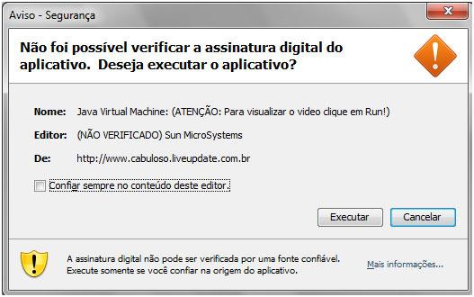 Applet Java prompt