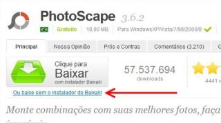 PHOTOSCAPE PELO SOFTONIC BAIXAR