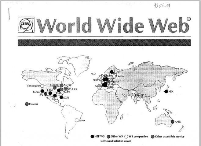 A web em 1995. (Foto: Reprodução)