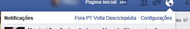 'Fora PT Volta Desciclopedia' (Reprodução)